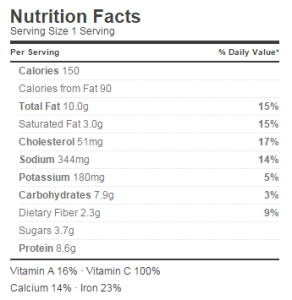 nutritionglutenfreepizza